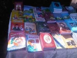 standul de cărți pentru copii